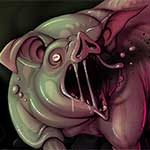 gelatinous pig by skulg