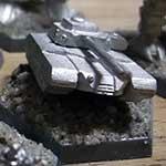 Bases für 6mm Battletech Miniaturen gestalten